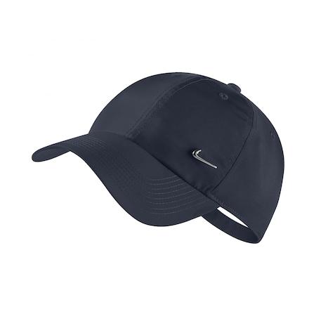 Sapca sportswear Nike NSW H86 metal pentru adulti, Albastru inchis, Onesize