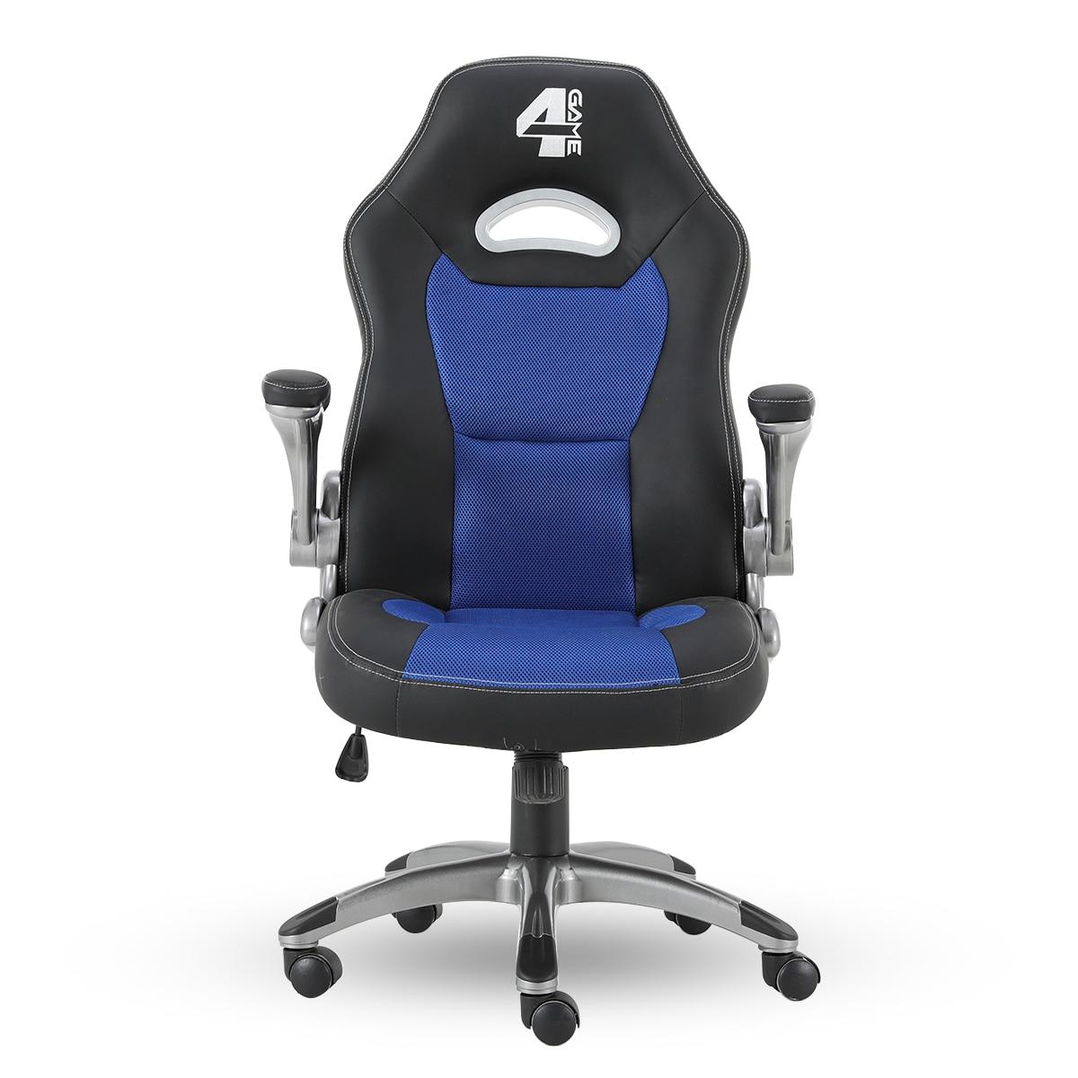 4game lagoon gamer szék fekete kék