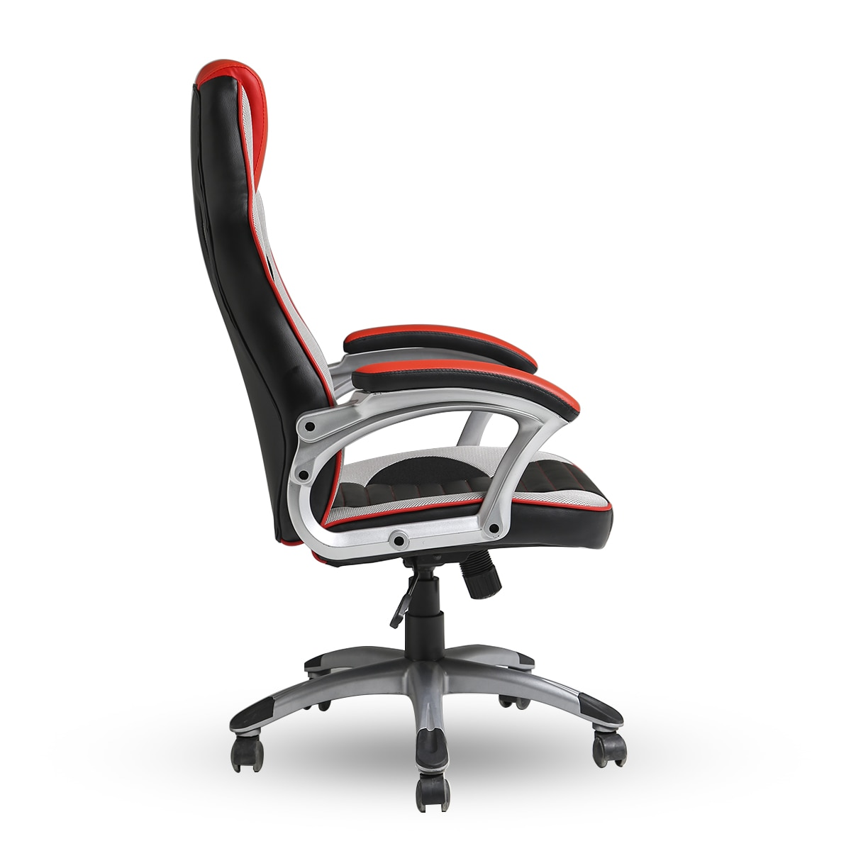 4GAME Lord Gamer szék, FeketeEzüstPiros