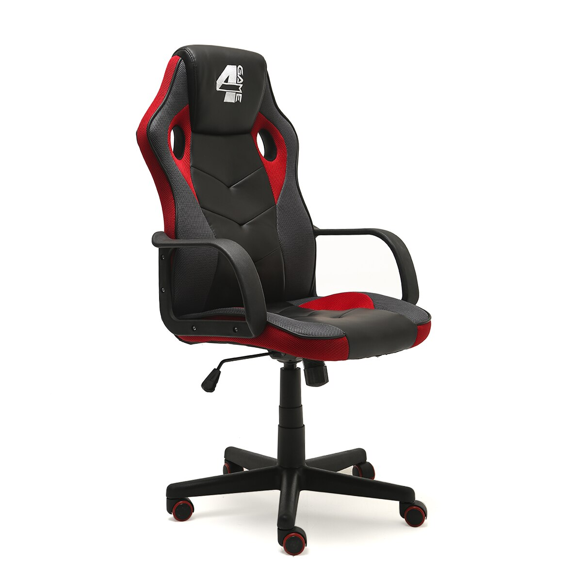 4game diablo gamer szék fekete szürke piros