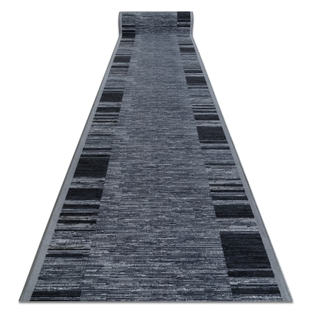 Dywany Łuszczów Csúszásgátló futó szőnyeg adagio szürke, 67x20 cm