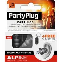 Alpine PartyPlug Fesztivál, koncert, buli füldugó, fekete