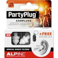 Alpine PartyPlug Fesztivál, koncert, buli füldugó, fehér