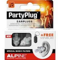 Alpine PartyPlug Fesztivál, koncert, buli füldugó, átlátszó