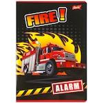 Tűzoltós 2. osztályos vonalas füzet - A5, 14-32