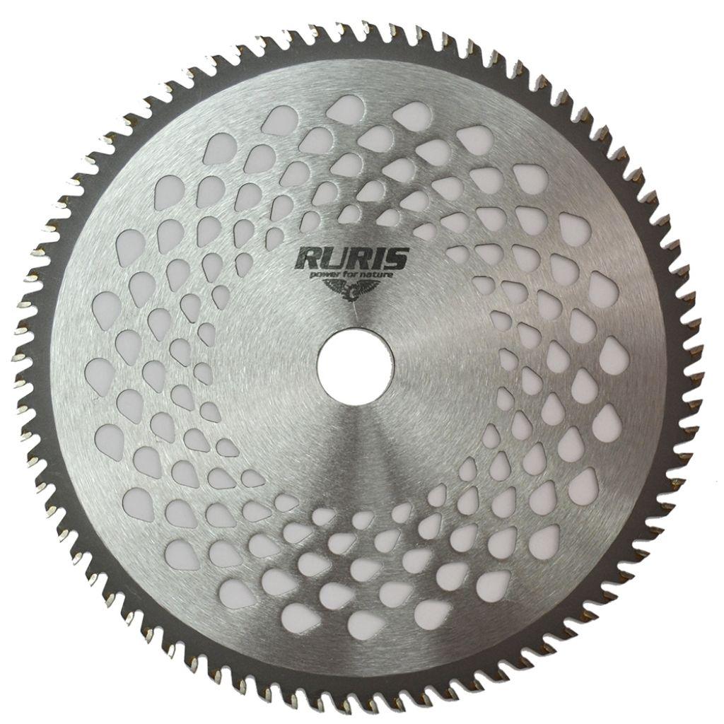 Fotografie Disc din otel pentru tuns iarba Ruris ps310-1-80v1, 80 dinti VIDIA, 23 cm diametru