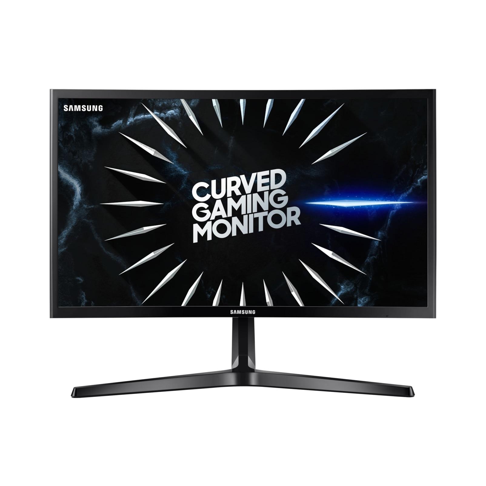 "Fotografie Monitor Curbat Gaming LED VA Samsung Odyssey 23.5"", 144 Hz, Freesync, Full HD, Display Port, Negru, LC24RG50FQUXEN"