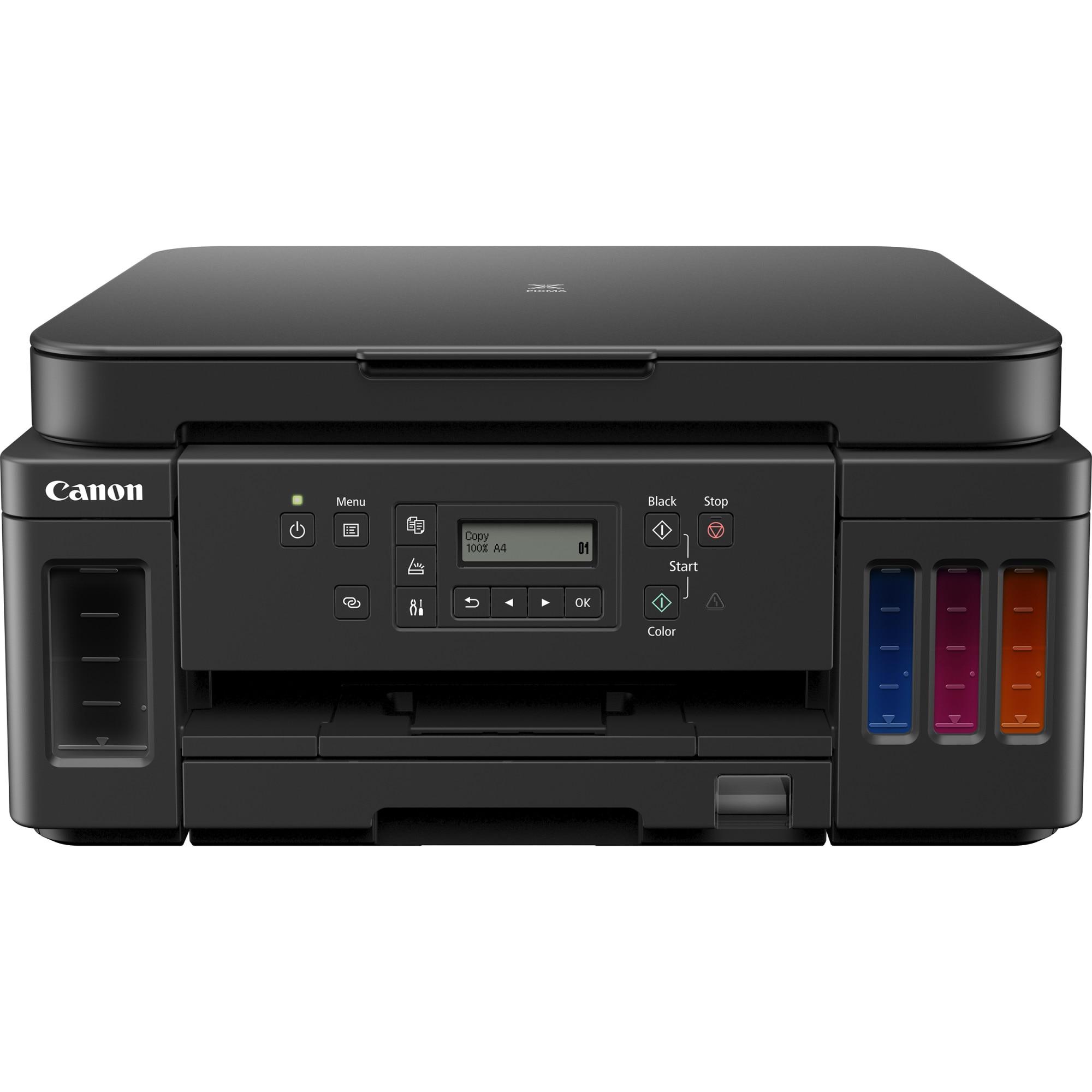 Fotografie Multifunctional inkjet color Canon PIXMA G6040, Duplex, Retea, Wireless, A4