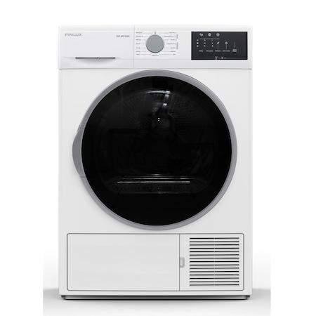 Сушилня машина Finlux TDF-8PF2SSG, клас A++, 8 кг. капацитет, свободностояща, 60 cm. ширина, 15 програми, бяла