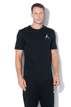 Nike, Tricou de bumbac Jumpman Air, Negru
