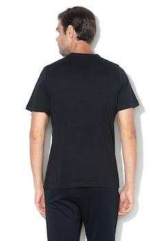 Nike, Tricou cu logo brodat Club, Negru