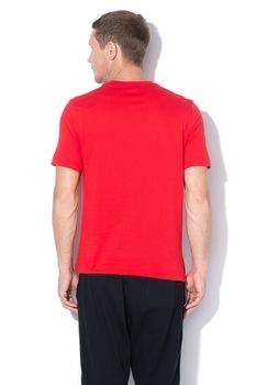 Nike, Tricou cu logo brodat Club, Rosu