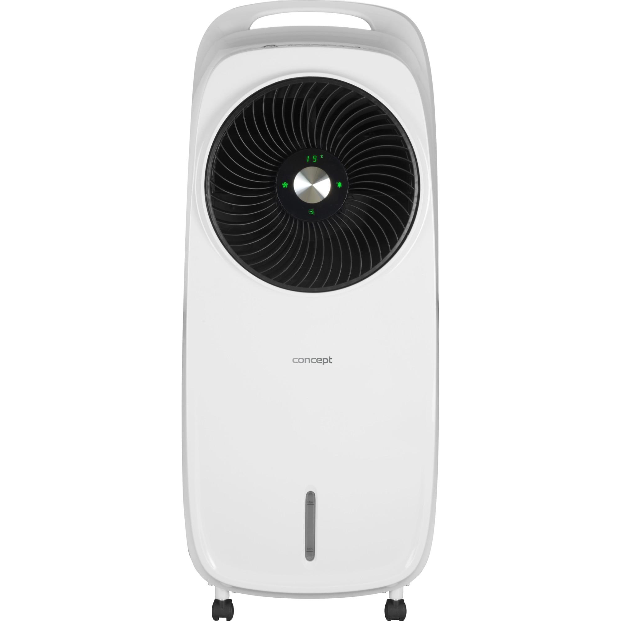 Fotografie Racitor de aer Concept OV5200, 110 W, 4 moduri de functionare, 3 trepte de viteza, functie ionizare, display LED, filtru lavabil, telecomanda