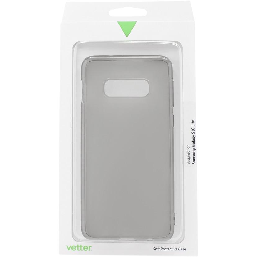 Fotografie Husa de protectie Vetter Soft Touch Ultra Slim pentru Samsung Galaxy S10 Lite, Grey