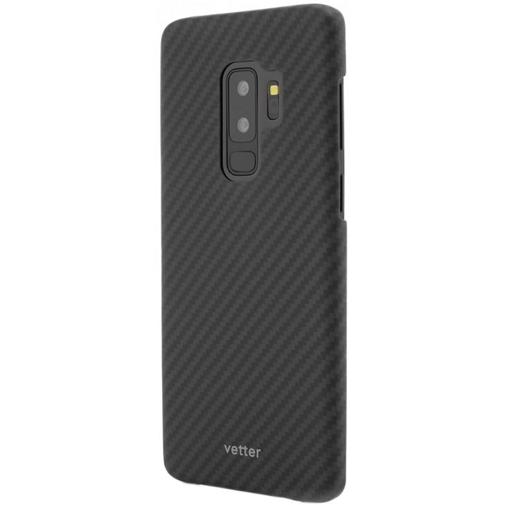 Fotografie Husa de protectie Vetter Clip-On Ultra Slim pentru Samsung Galaxy S9 Plus, Black