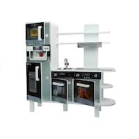 Fa konyha kávéfőzővel, hűtőszekrénnyel 2636