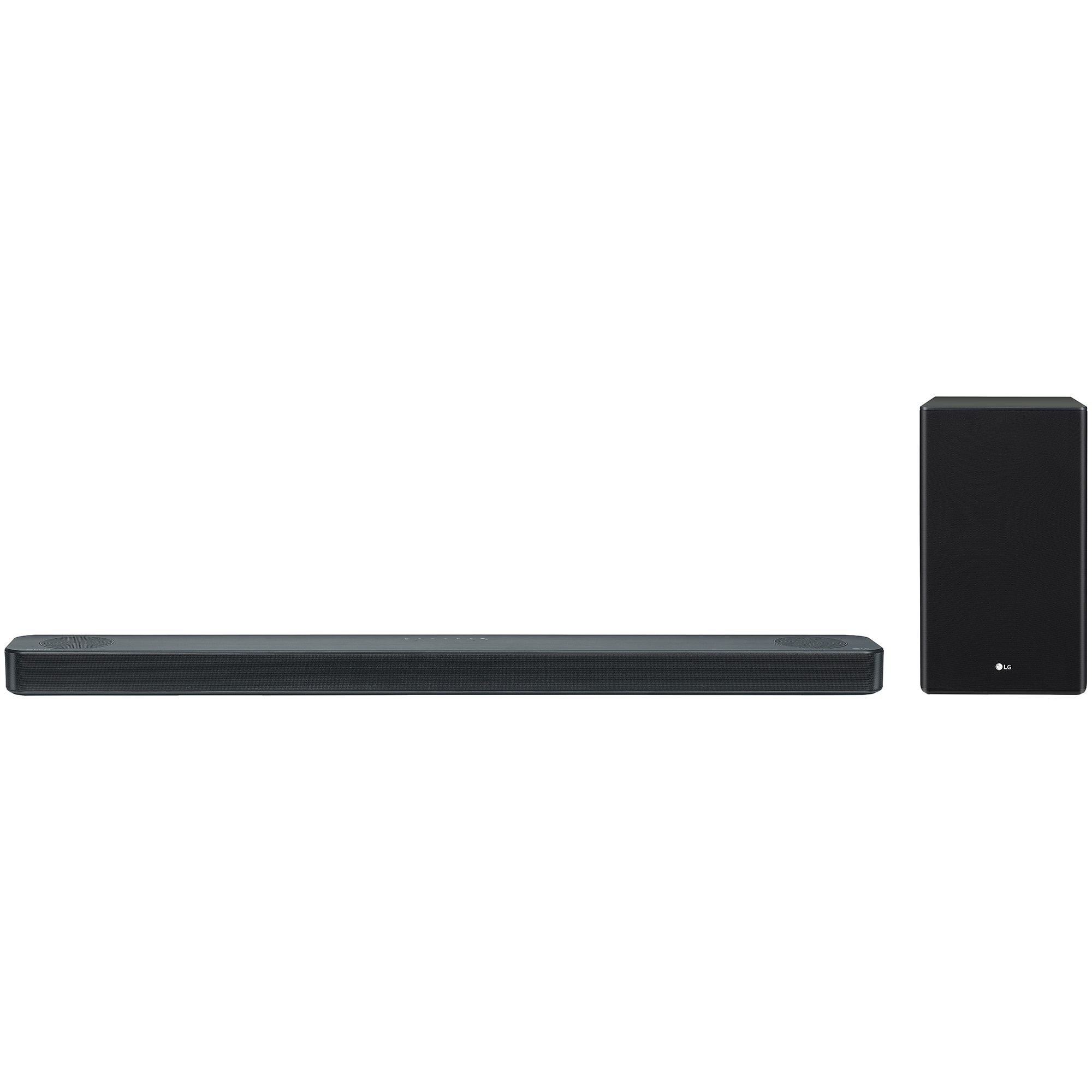 Fotografie Soundbar LG SL8Y, 440W, 3.1.2 , High Res Audio ,Meridian Technology, Dolby Atmos & DTS:X, Wireless Rear Speaker-Ready