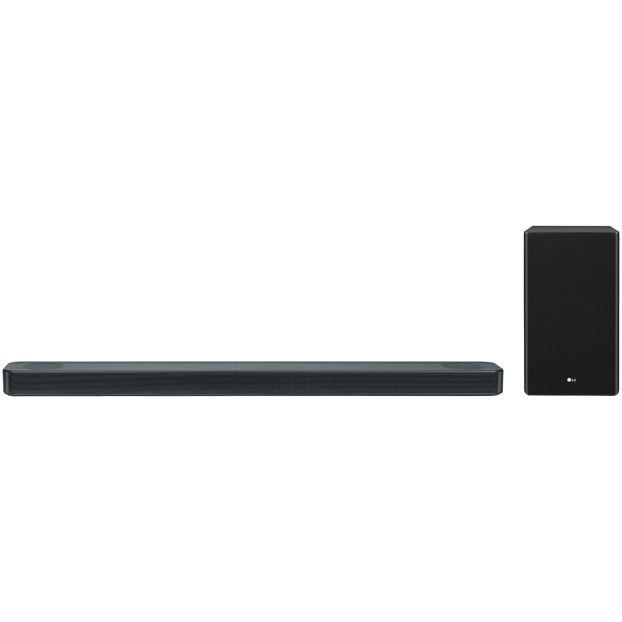 Fotografie Soundbar LG SL8Y, 440W, 3.1.2 , High Res Audio ,Meridian Technology, Dolby Atmos & DTS:X, Wireless Rear Speaker-Ready