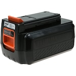 Powery Helyettesítő akku Black & Decker típus BL2036 Li-Ion 36V (max. 40V) 1500mAh/54Wh