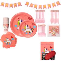 set petrecere unicorn