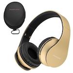 PowerLocus P1 Bluetooth fejhallgató, vezeték nélküli fül köré illeszkedő összehajtható, micro SD, FM Rádió