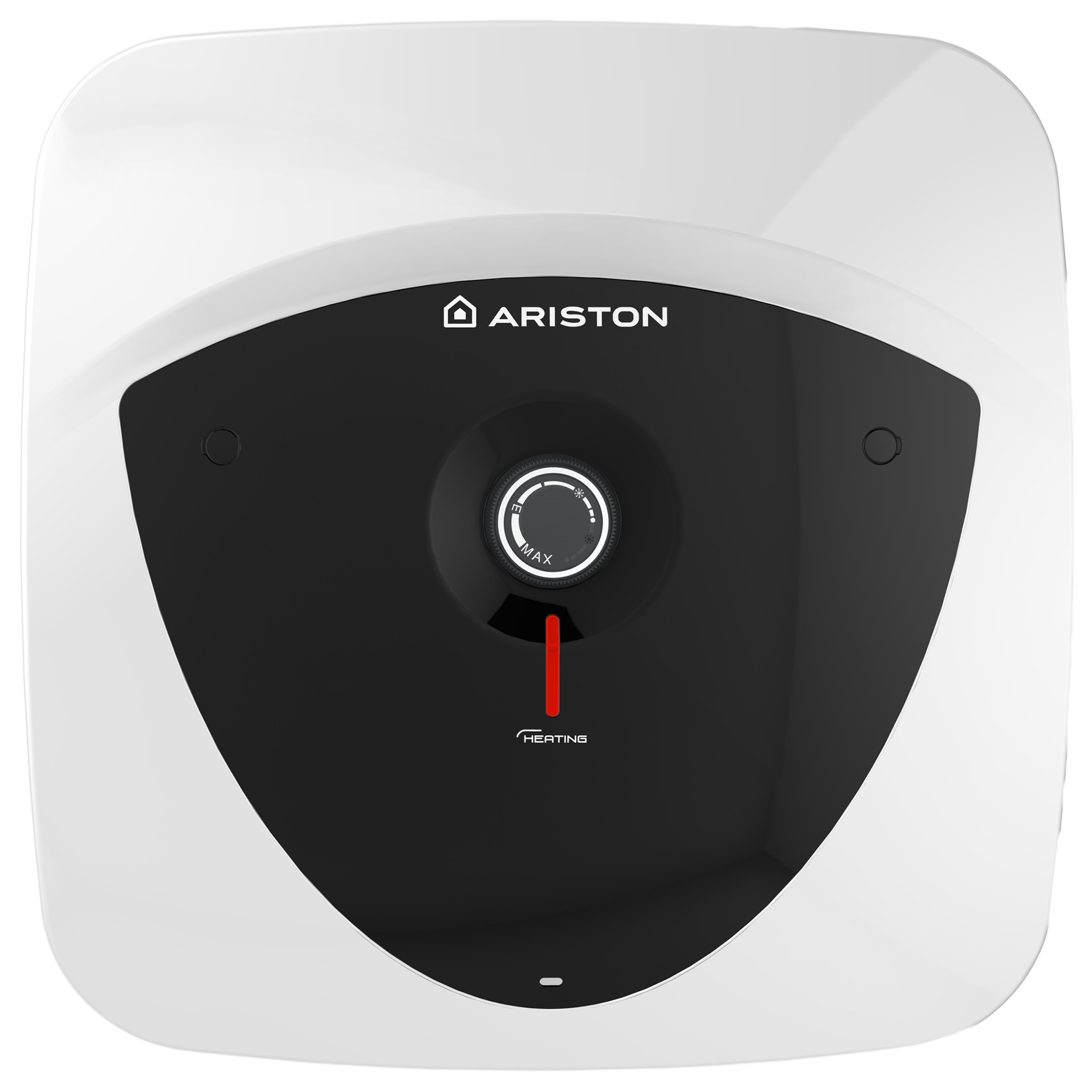 Fotografie Boiler electric Ariston Andris LUX 30 EU, 30 l, 1500 W, Led iluminat, Protectie electrica IPX4, Montare deasupra chiuvetei, Reglaj extern de temperatura