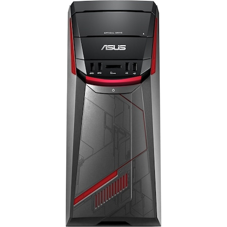 Sistem Desktop PC ASUS ROG G11CB-RO003D cu procesor Intel® Core™ i7-6700 3.40GHz, Skylake™, 8GB, 1TB + 8GB SSD, DVD-RW, nVIDIA GeForce GTX 960 2GB, Free DOS, Mouse + Tastatura, Black
