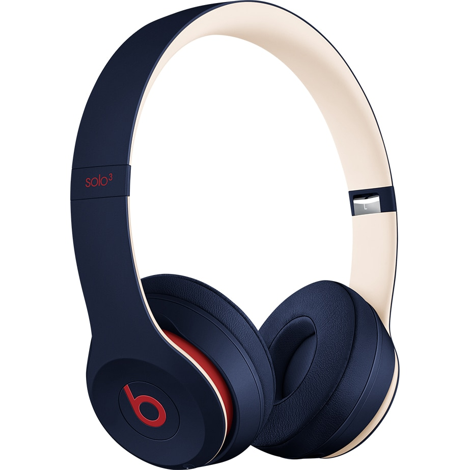 Fotografie Casti audio Beats Solo3 by Dr. Dre, Wireless, Club Collection, Albastru Navy