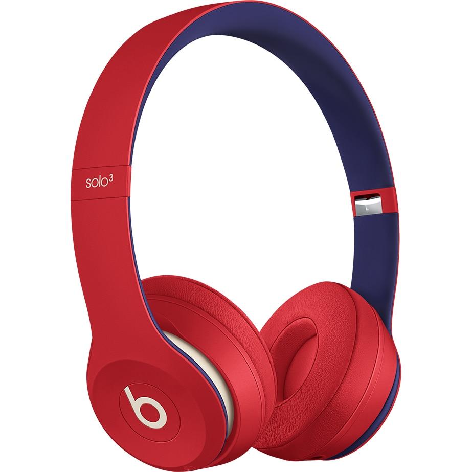 Fotografie Casti audio Beats Solo3 by Dr. Dre, Wireless, Club Collection, Rosu