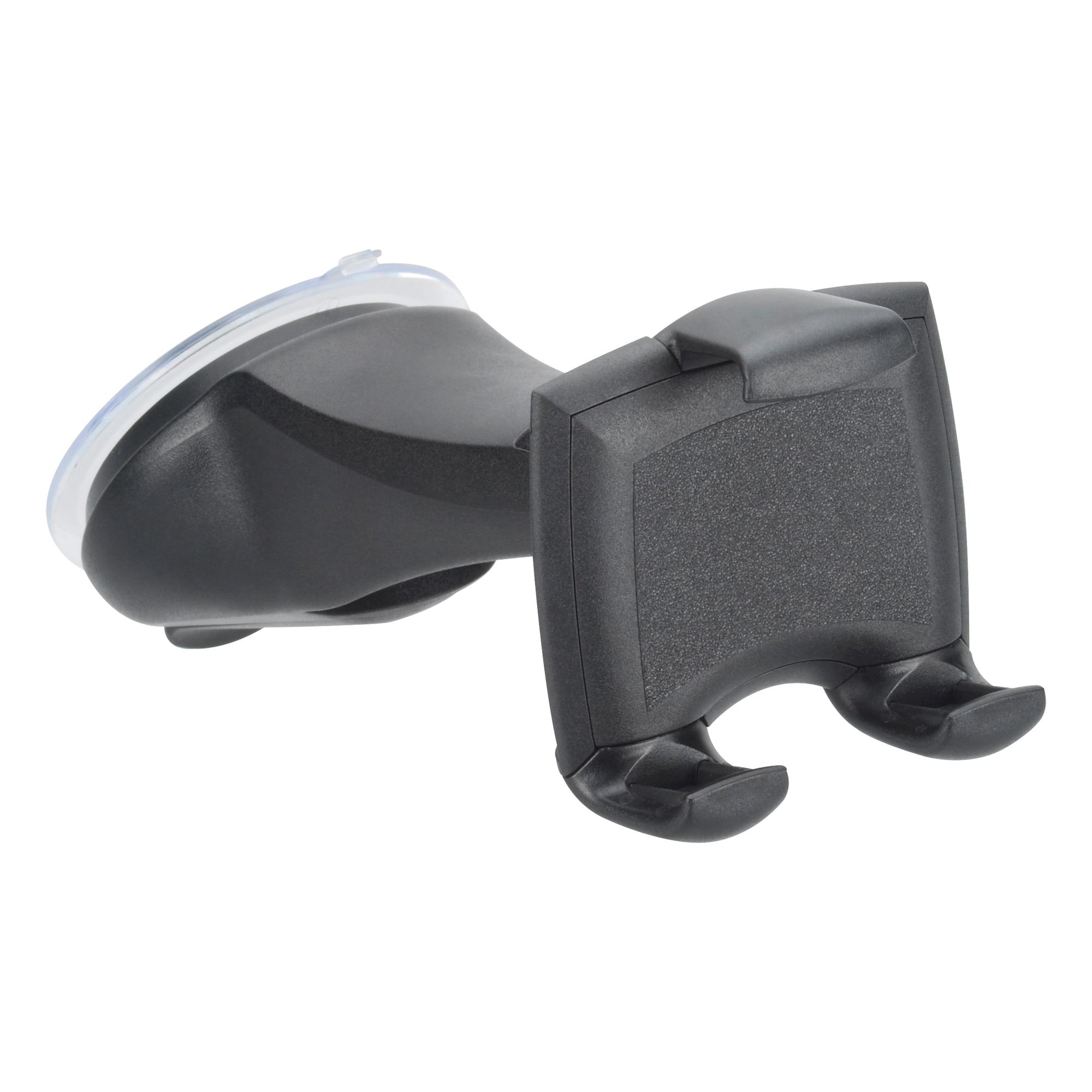 Fotografie Suport auto pentru telefon Hama Smart Grip 2, prindere de parbriz, Negru