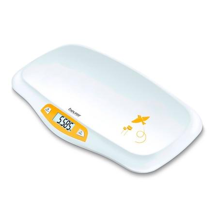 Дигитален кантар за деца и новородени Beurer BY80, Екран LCD, max. 20кг