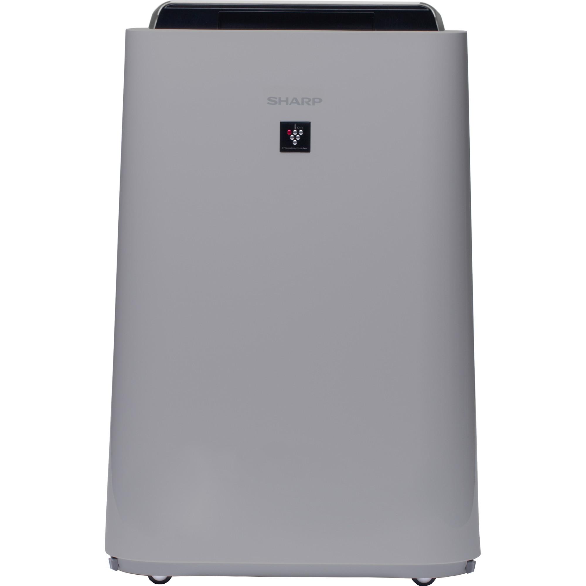 Fotografie Purificator de aer cu umidificator Sharp UA-HD50E-L, 4 modele de filtrare, 4 senzori de praf, Plasmacluster Ion Technology, 38m², alb