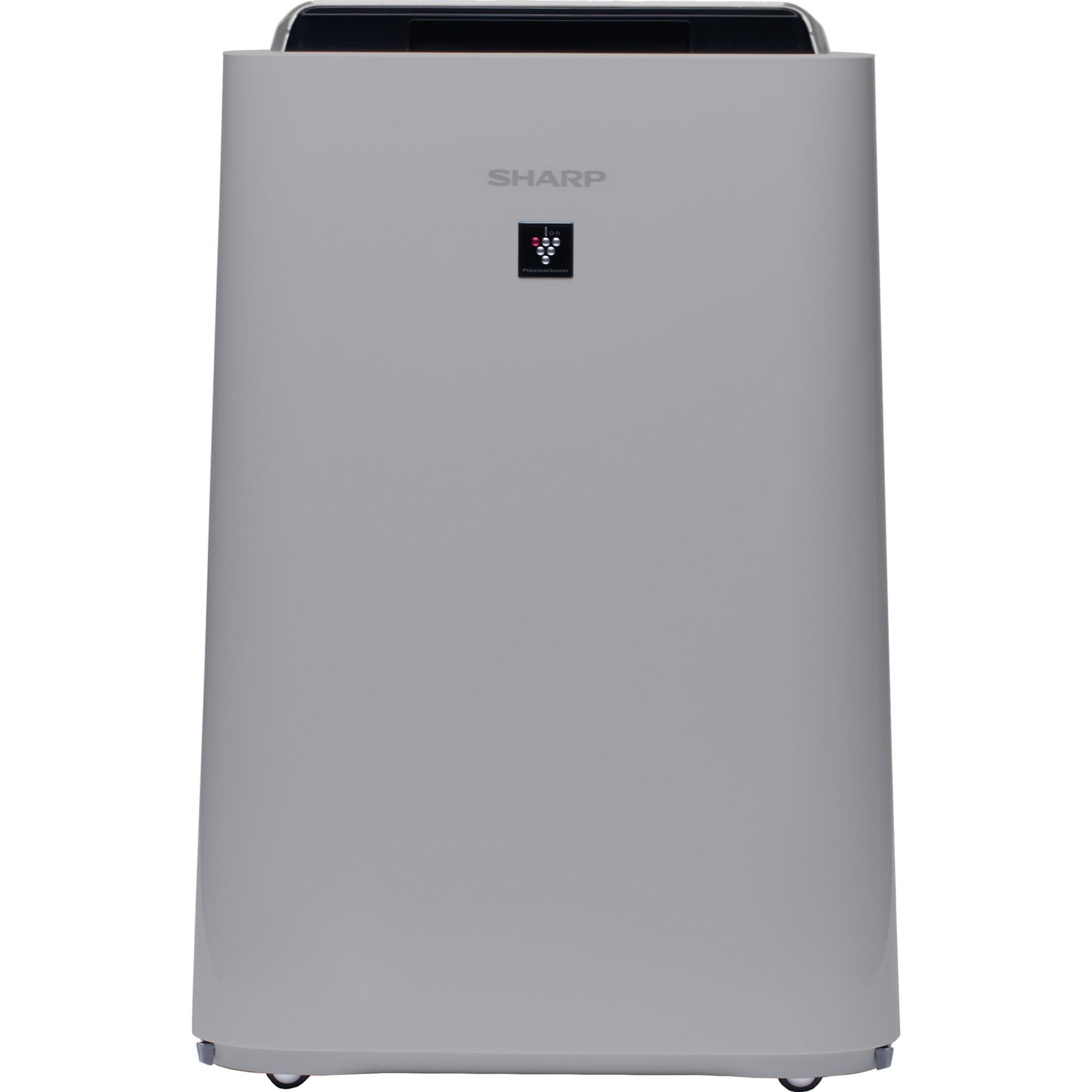Fotografie Purificator de aer cu umidificator Sharp UA-HD60E-L, 4 modele de filtrare, 4 senzori de praf, Plasmacluster Ion Technology, 48m², alb