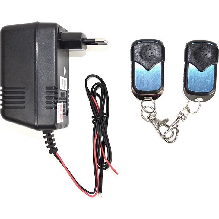 Fotografie Alimentator cu 2 telecomenzi SilverCloud AP101, pentru yale electromagnetice, automatizari porti