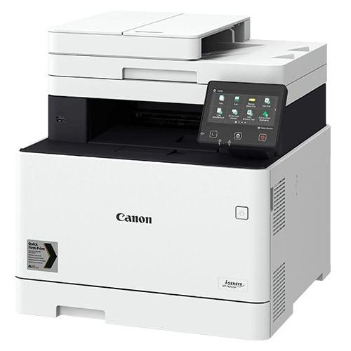 Fotografie Multifunctional laser color Canon I-Sensys MF742Cdw, Retea, Wireless, ADF, Duplex, A4