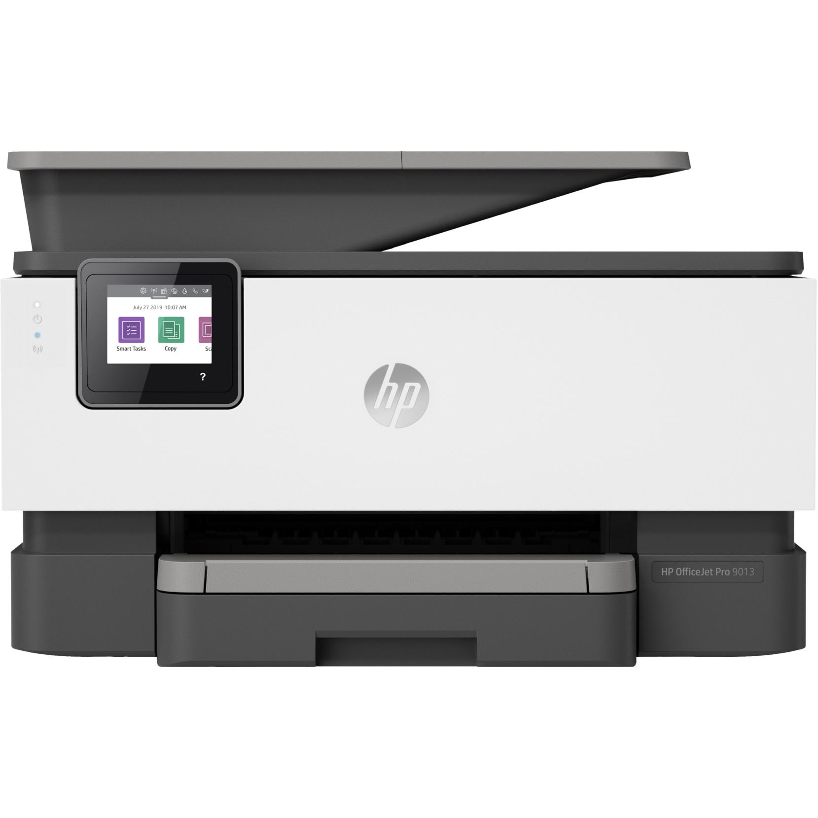 Fotografie Imprimanta inkjet color HP OfficeJet Pro 9013, Retea, Wireless, Duplex, ADF, A4