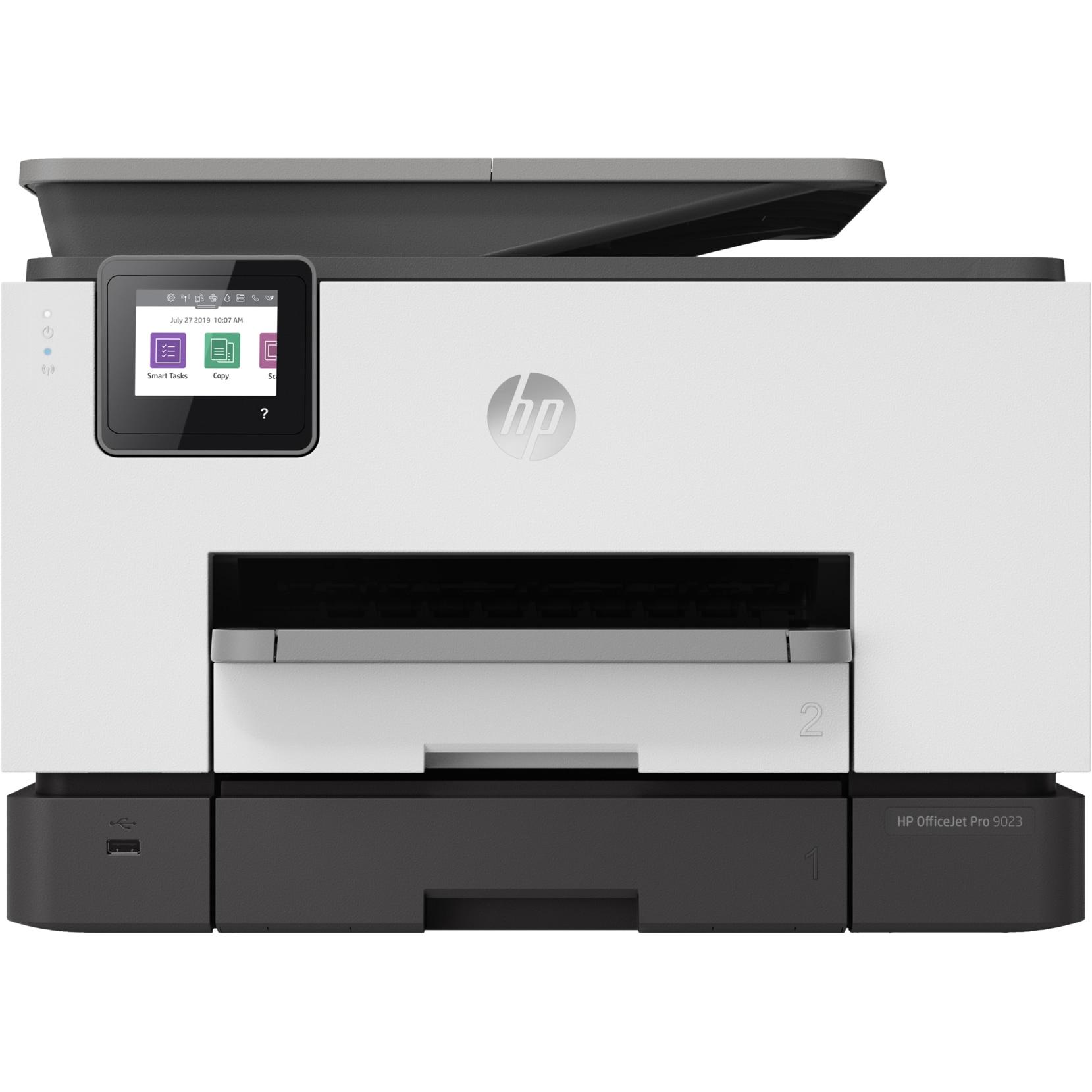 Fotografie Multifunctional inkjet color HP OfficeJet Pro 9023, Retea, Wireless, Duplex, ADF, A4