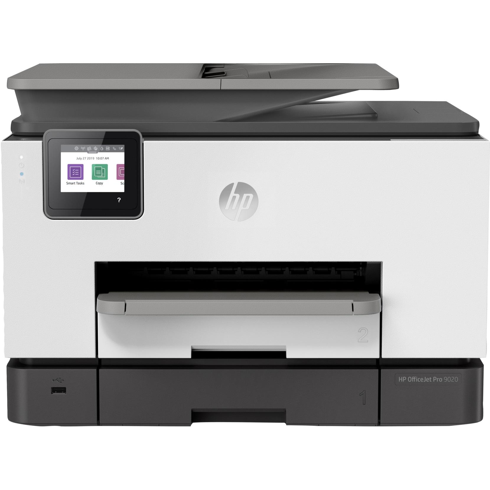 Fotografie Multifunctional inkjet color HP OfficeJet Pro 9020, Retea, Wireless, Duplex, ADF, A4