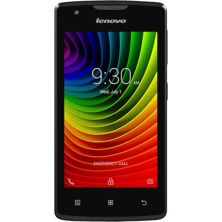Смартфон Lenovo A1000, Dual Sim, 8GB, Black