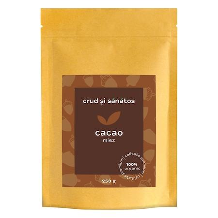 Boabe de cacao întregi Eco, g, Dragon Superfoods : BebeTei