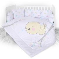 Спално бельо LORELLI Пиленце, Ранфорс, Многоцветно, 5 части