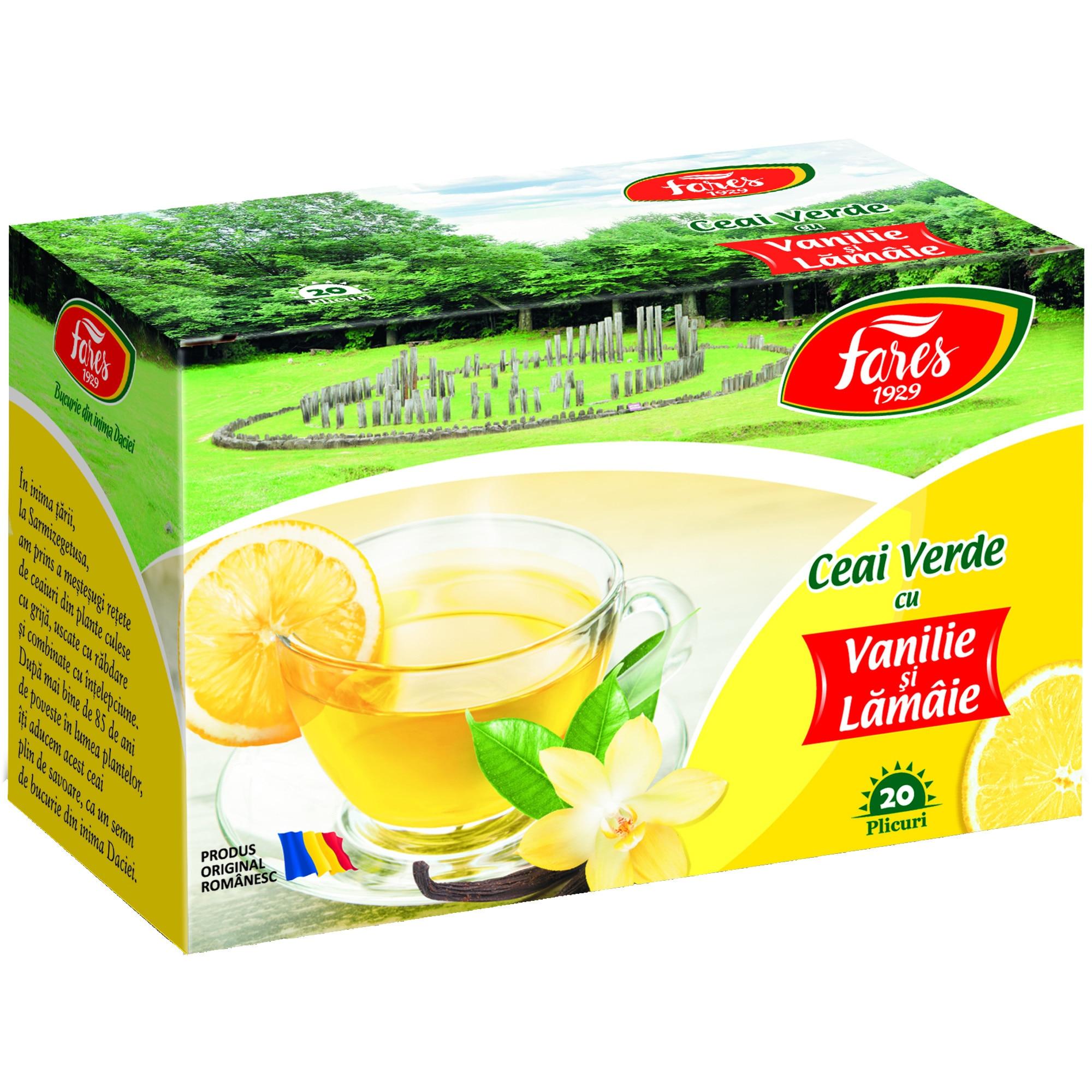 ceai verde cu lamaie dimineata)