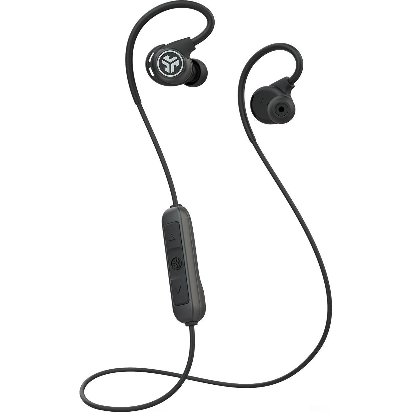 Fotografie Casti JLab Fit Sport 3, wireless, fitness, in-ear, Negru