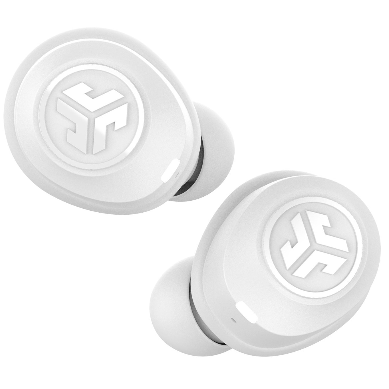 Fotografie Casti Audio In Ear JLAB JBuds Air, True Wireless, Bluetooth, Microfon, Autonomie 4 ore, Alb