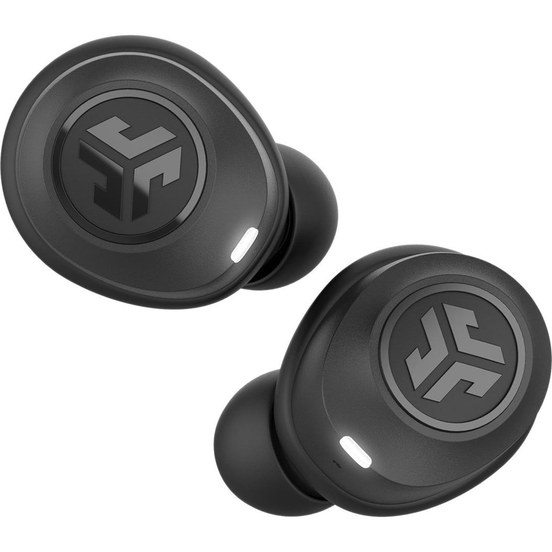 Fotografie Casti Audio In Ear JLAB JBuds Air, True Wireless, Bluetooth, Microfon, Autonomie 4 ore, Negru