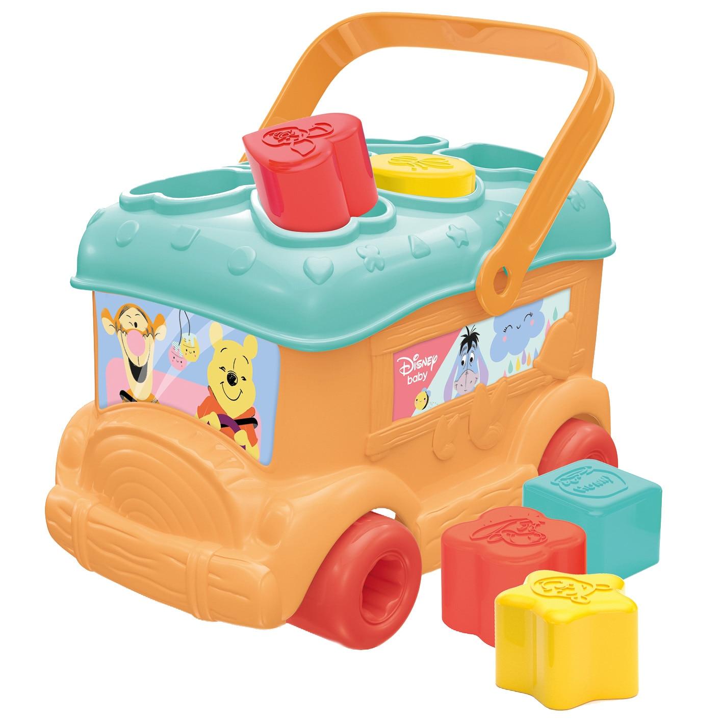 Fotografie Jucarie sortare Baby Clementoni - Autobuz, Winnie the Pooh