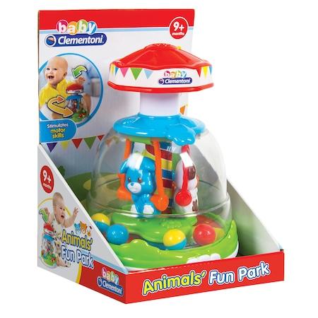 Jucarie interactiva Baby Clementoni - Animals Fun Park
