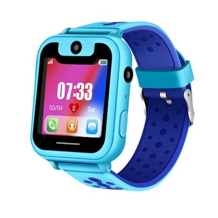 Gyerek okosóra GPS nyomkövetéssel (SOS funkció, elektromos kerítés, SIM foglalat, 2MP kamera, elemlámpa)