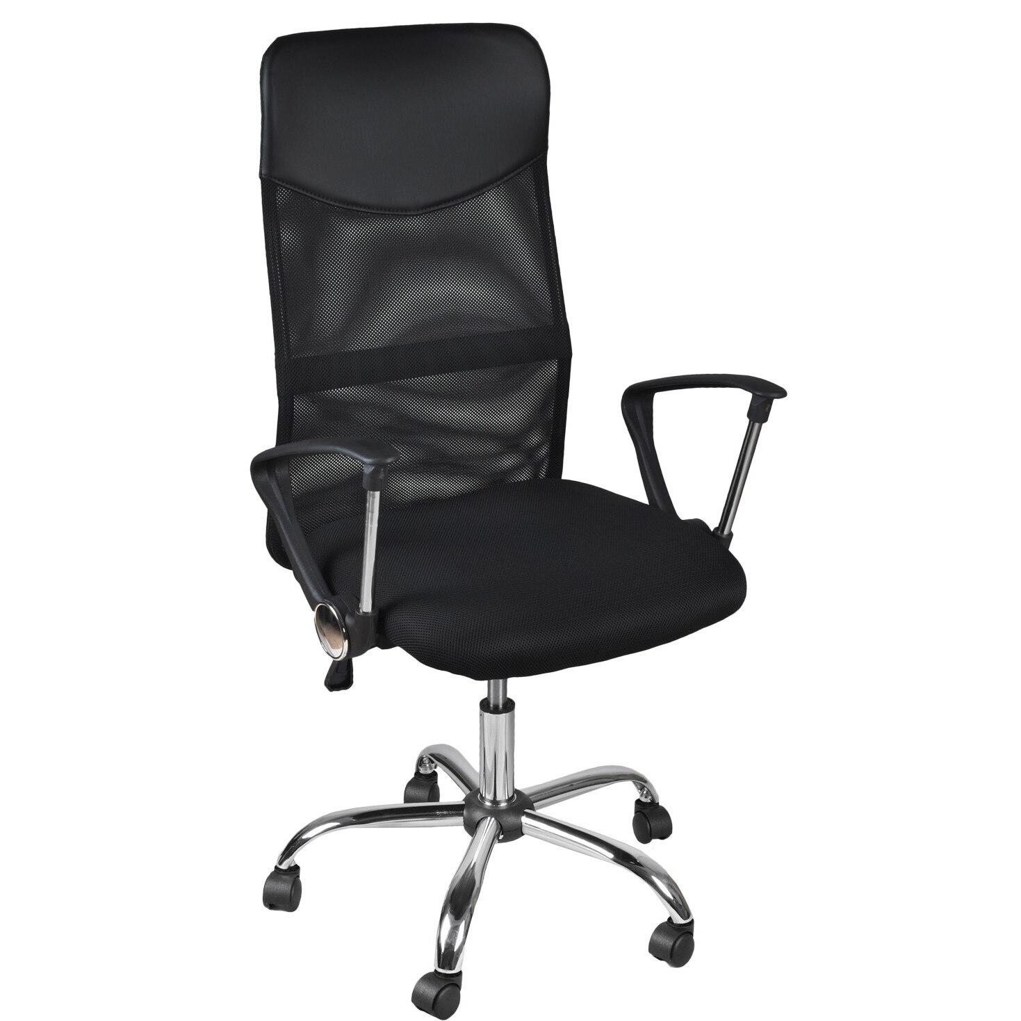 Fotel Biurowy Obrotowy Krzesło Biurka Mikrosiatka 2727