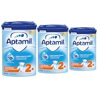 Pachet 3 x Lapte praf Aptamil Junior 2+, 800 g, 24-36 luni